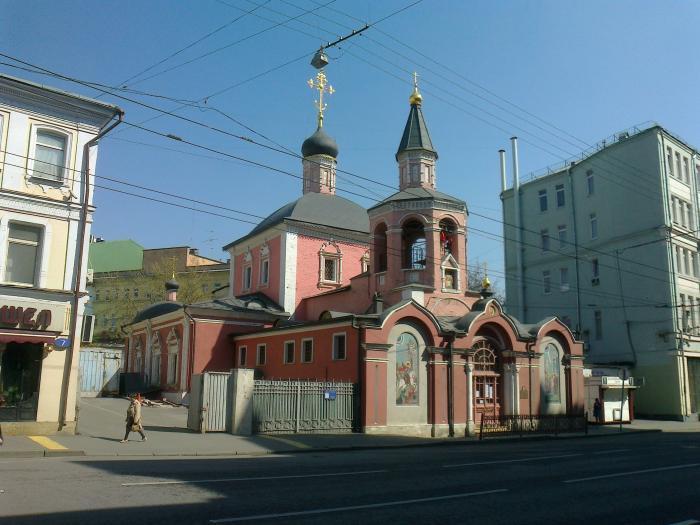 Церковь георгия в лучниках