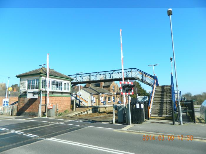 Narborough (Leicestershire) United Kingdom  City pictures : Narborough Railway Station Narborough