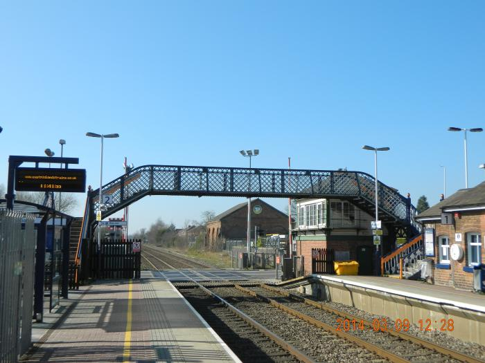 Narborough (Leicestershire) United Kingdom  City new picture : Narborough Railway Station Narborough