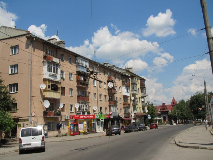 Товарная ул, 2 в городе ивано-франковск