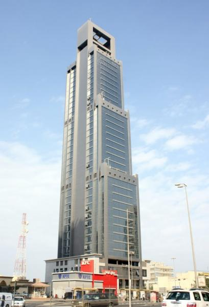 Panasonic Tower Kuwait City Office Building