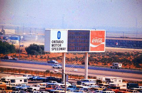 ontario motor speedway site ontario california