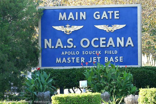 Naval Air Station Oceana (NTU/KNTU)