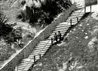 Laurel Hardy The Music Box Steps Los Angeles California