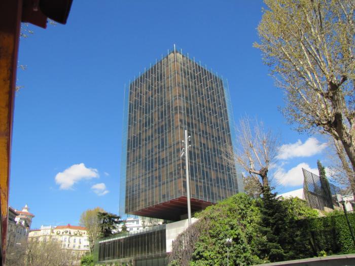 Torre de catalana occidente edificio castelar madrid for Catalana occidente oficinas