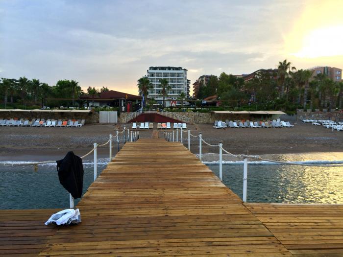 Отзывы об отеле Porto Azzurro Delta Hotels 5*(Алания)