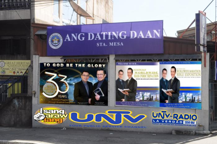 Ang dating daan coordinating centers address
