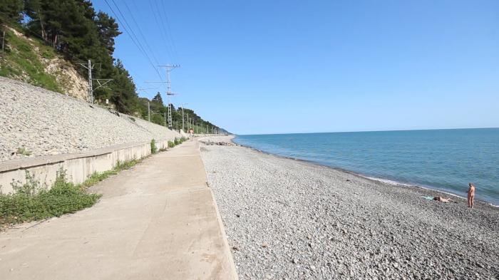 Пляжи  Гостиницы Лазаревского