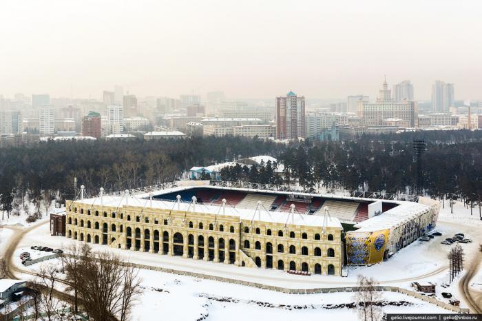 стадион восход челябинск