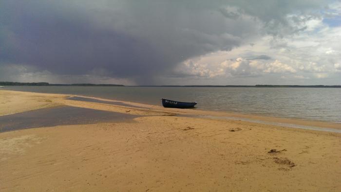 рыбалка сверху острове уходово