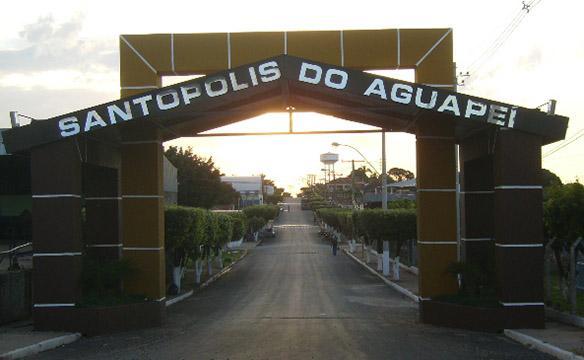 Santópolis do Aguapeí São Paulo fonte: photos.wikimapia.org