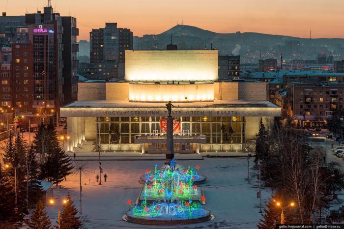 Красноярск гостиницы центр города
