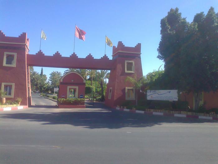 Village de l 39 electricien marrakech - Office des oeuvres universitaires pour le centre ...