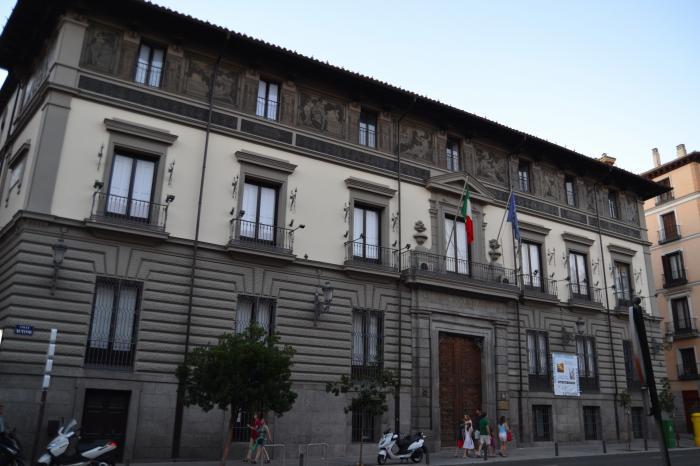palacio de abrantes instituto italiano de cultura madrid ForInstituto Italiano De Cultura Madrid