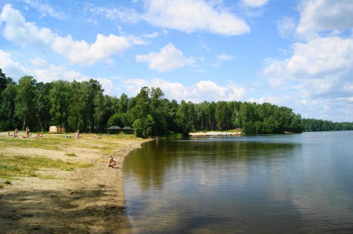 рыбалка летом на озере аятское