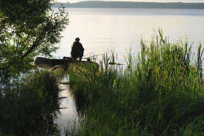 рыбалка на озере шарташ
