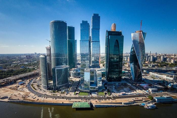 Moscow International Business Center Moscow