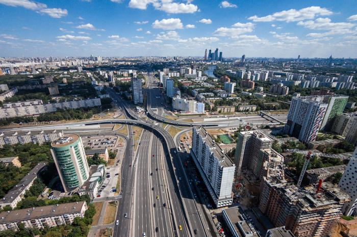 Развязка улицы Народного