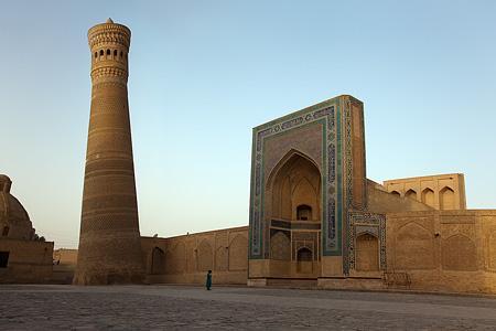 Kalyan minaret | Uzbekistan | Historic buildings | Points ... Минарет Калян