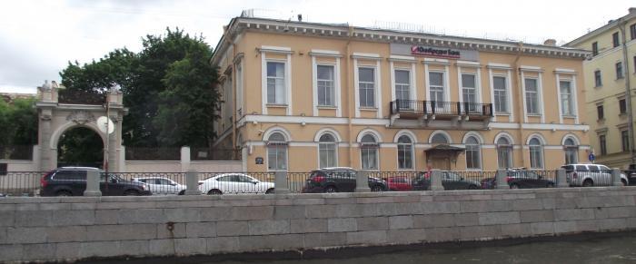 Офисное здание банк банкомат