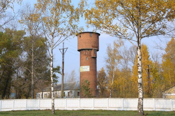 Водонапорная башня в ярославле