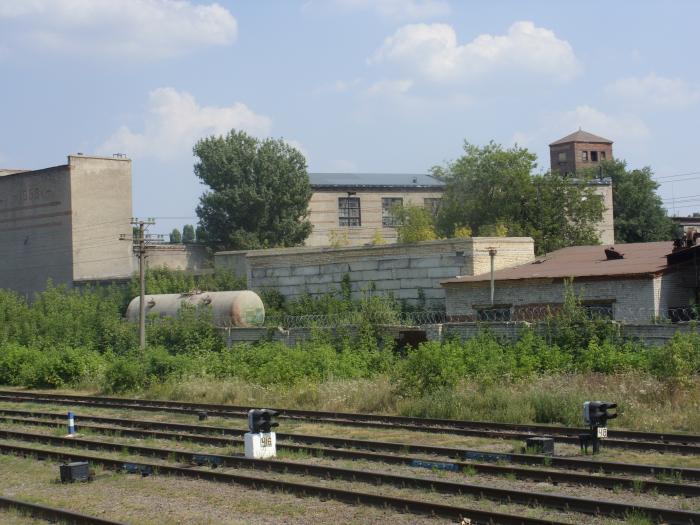 Огнеупорный завод в латном