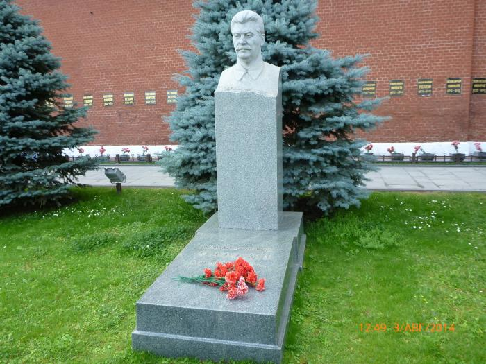 Joseph Stalin Grave Moscow
