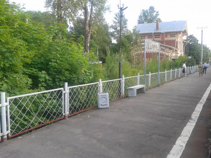Железнодорожная платформа можайская