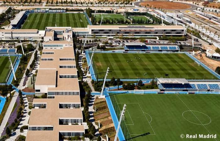 Edificio central ciudad deportiva de valdebebas real - Oficinas real madrid ...