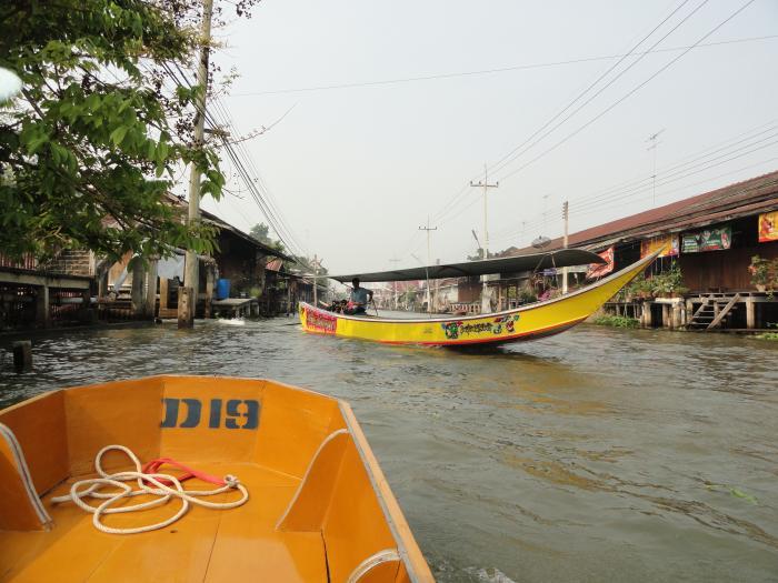 лодочная станция бангкок