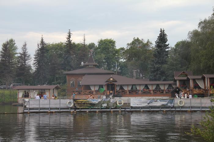 ресторан рыбалка питер