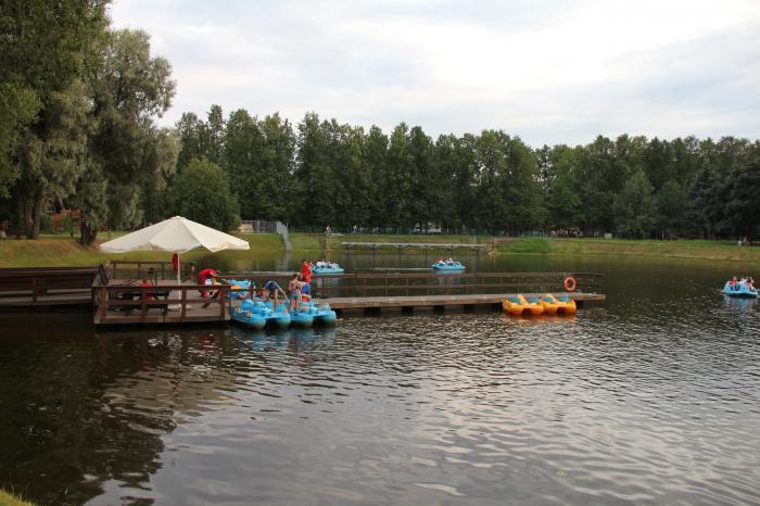 прокат лодок павловский парк