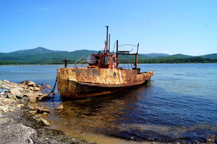 старинные рыболовные суда