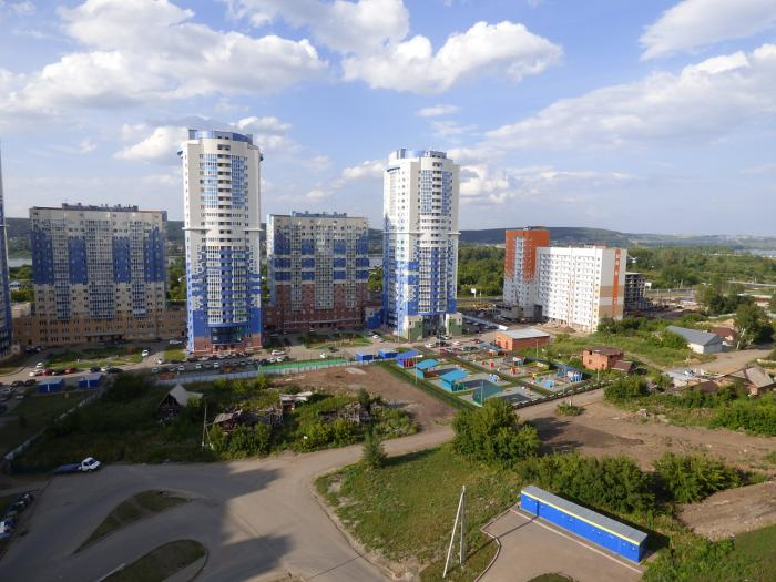 Residential complex of Kemerovo city Kemerovo