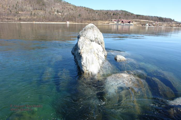 шаман камень фото байкал