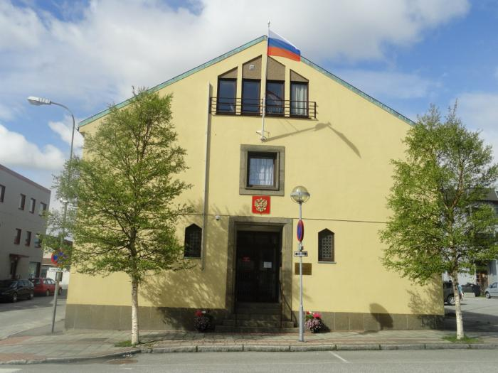 Can Russian embassy in norway russian are not