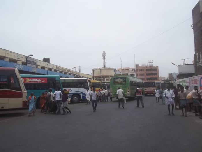 Karur India  city photos gallery : KARUR MUTHU KUMARASWAMY BUS STAND Karur