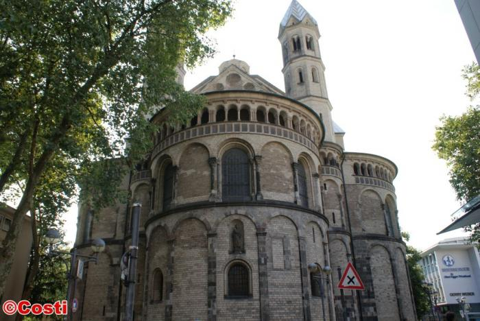 basilica of the holy apostles cologne church