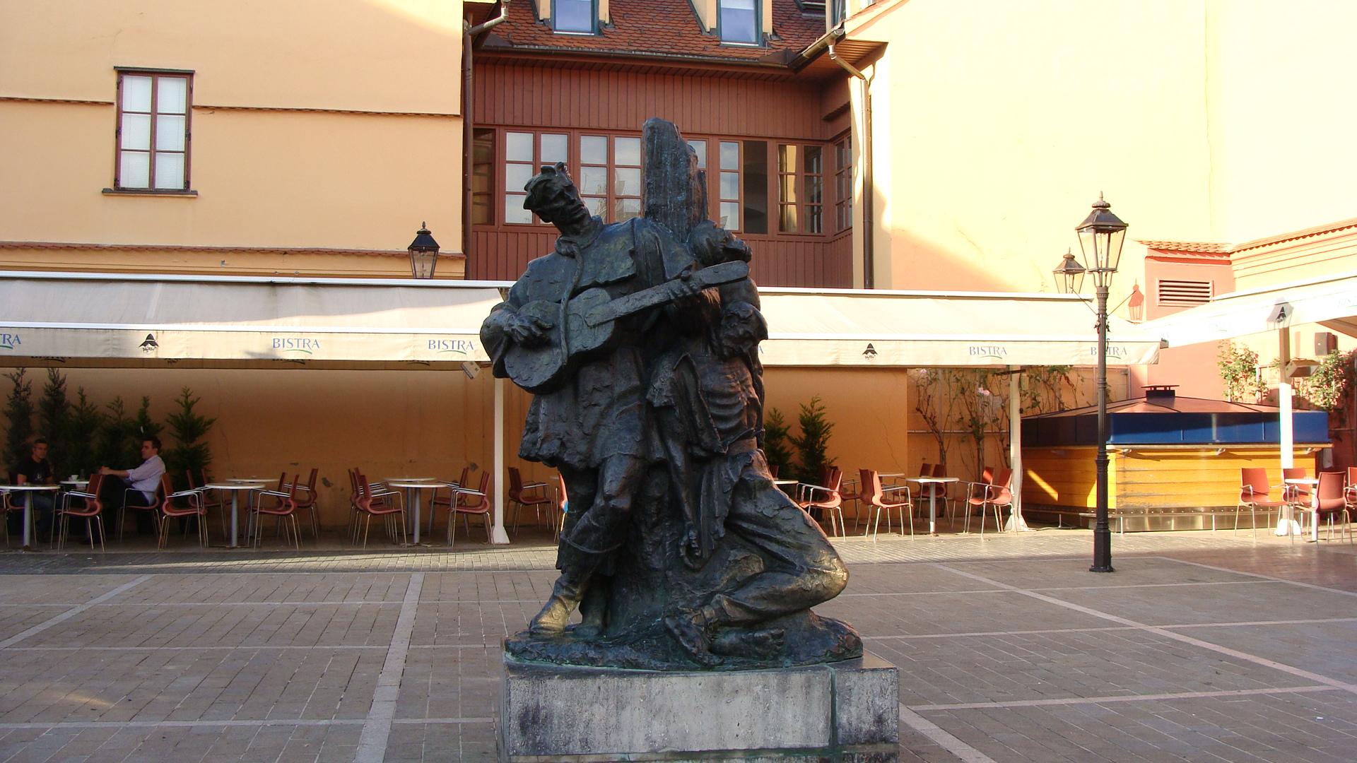 Petrica Kerempuh Square Zagreb