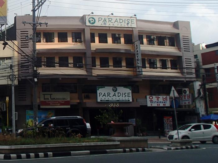 Paradise apartelle quezon city for Terrace 45 quezon city