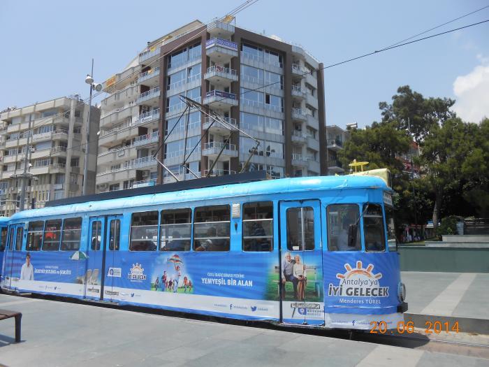 Nostaljik Tramvay Ba Lang Noktas Antalya