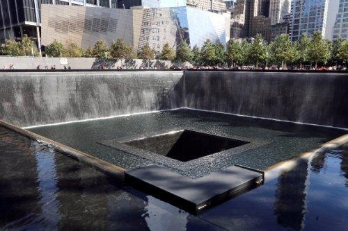 North Memorial Pool Former 1 World Trade Center Footprint New York City New York