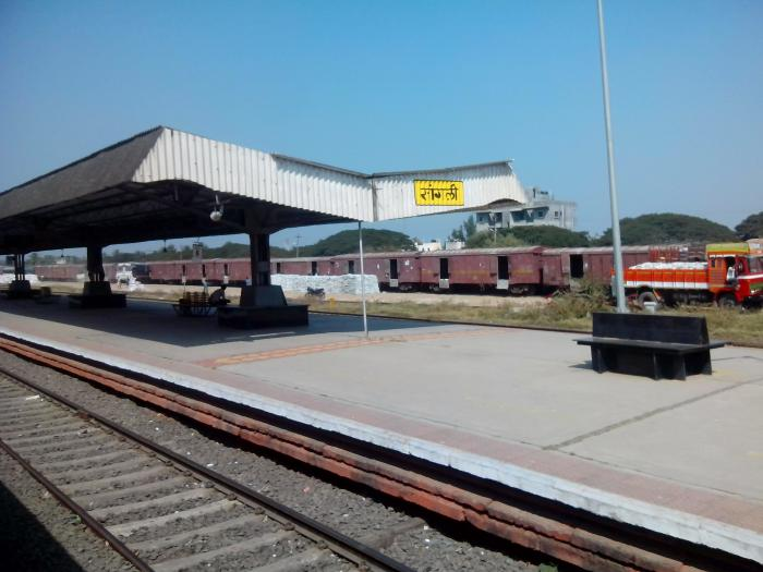 Sangli India  City new picture : Sangli Railway Station Sangli