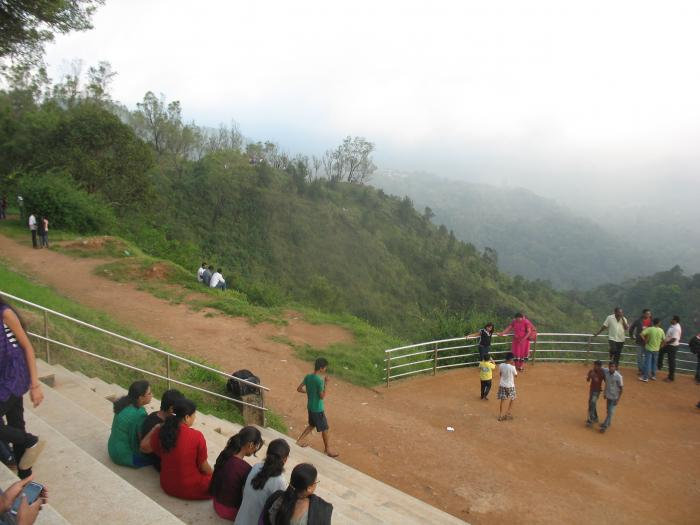 Madikeri Tourist Places Raja Seat