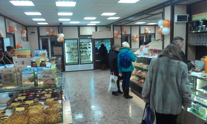 Торговая сеть добрынинский, г москва, декабрь 2014