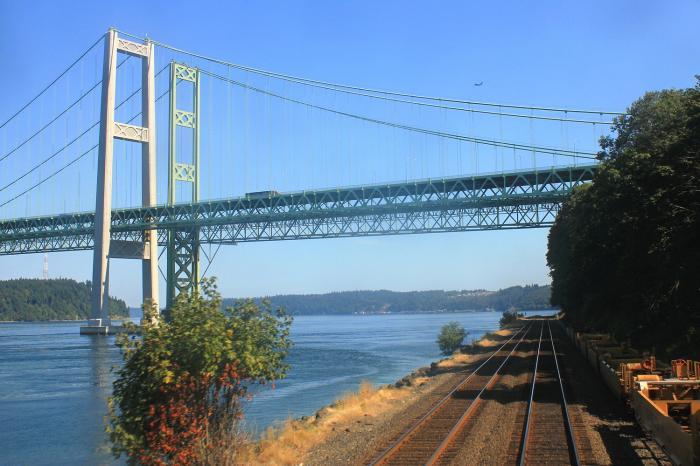 タコマナローズ橋 - Tacoma Narrows Bridge
