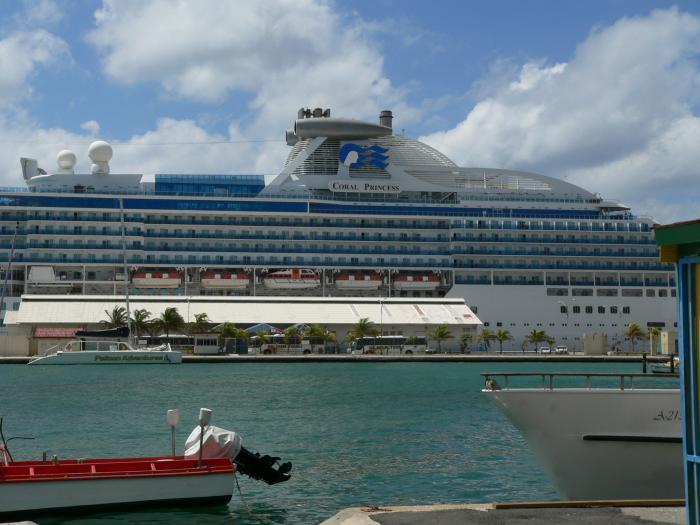 Cruise Ship Terminal  Oranjestad Aruba