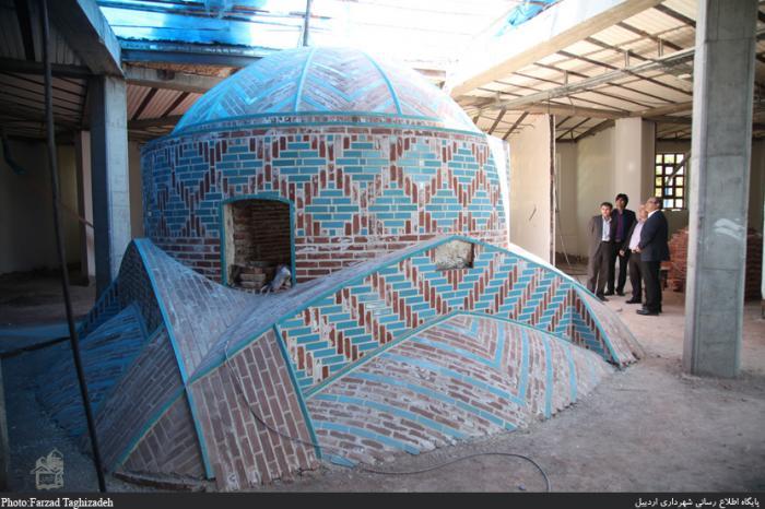 حمام تاریخی پیرزرگر - اردبیل