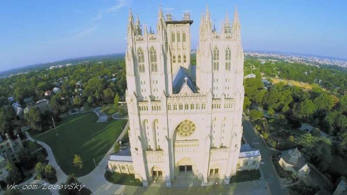вашингтонский национальный собор фото