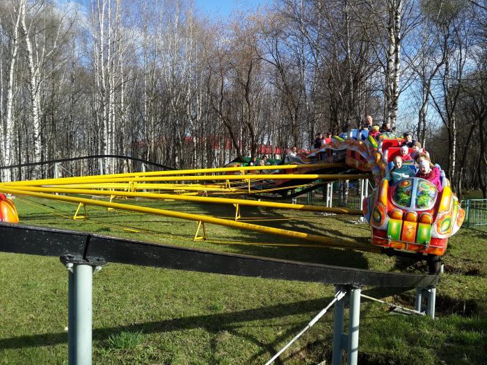 парк кирова аттракцион лодка